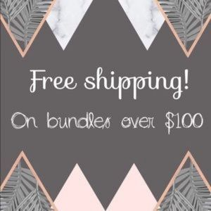 Free Shipping on Bundles over $100!